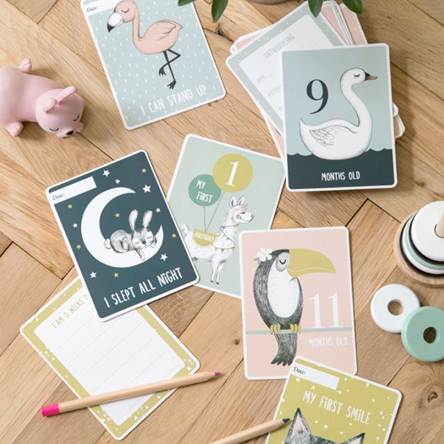 First Moment Cards To Celebrate And Remember Your Child S First
