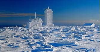 Weather Station on Brockton Peak, Saxony-Anhalt, Germany - Bing Images