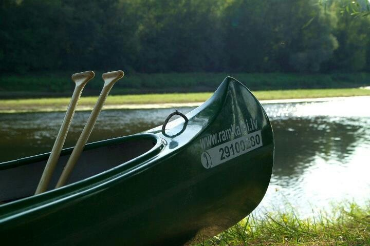 Anyone want to go canoeing with me in Latvia?