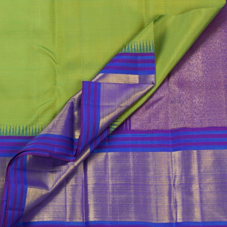 Kanakavalli Handwoven Kanjivaram Silk Sari 1005615 - Sari / All Saris - Parisera