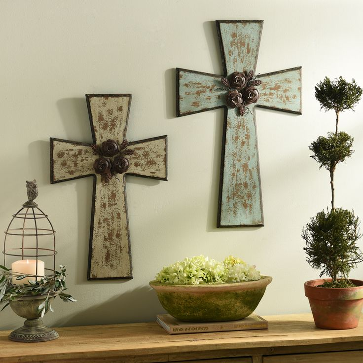 10 best images about wall crosses decor on pinterest wrought iron metals and cross wall decor Home decor wall crosses