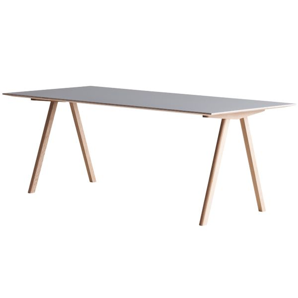 This little thing? Yes please. #hay #copenhague #CPH10 #table #oak #grey #interiordesign #design #inspiration