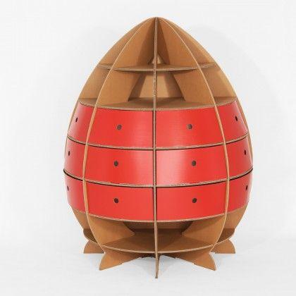 Das Pappbett Ist Ein Klassiker U2013 Aber Auch Alle Anderen Möbel Aus Pappe Wie  Regale Und Tische Sind Seit 1985 Eine Nachhaltige Alternative.