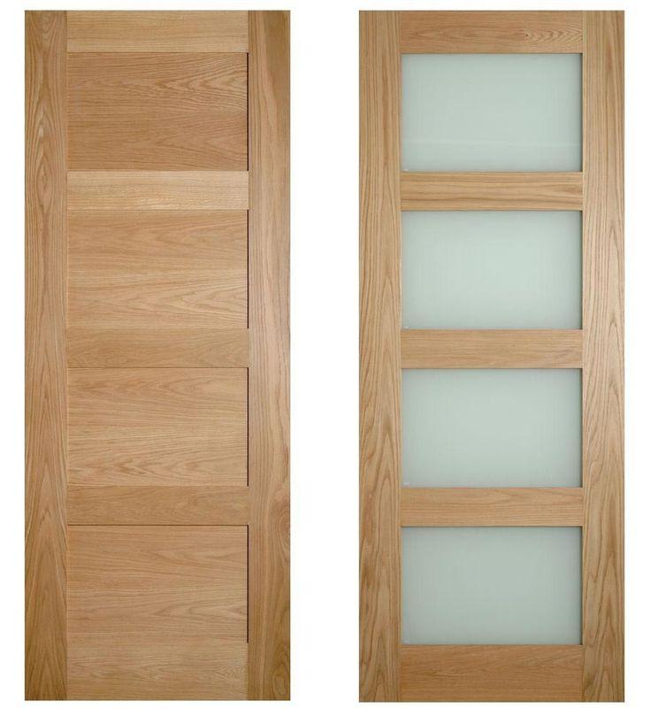 4 panel shaker style internal doors