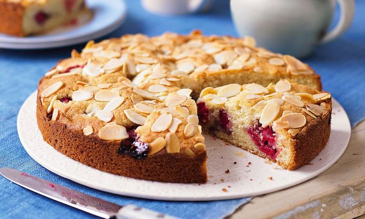 Fay's fuss-free feasts: Easy bakewell cake http://bit.ly/zvJ8Ek #DailyMail