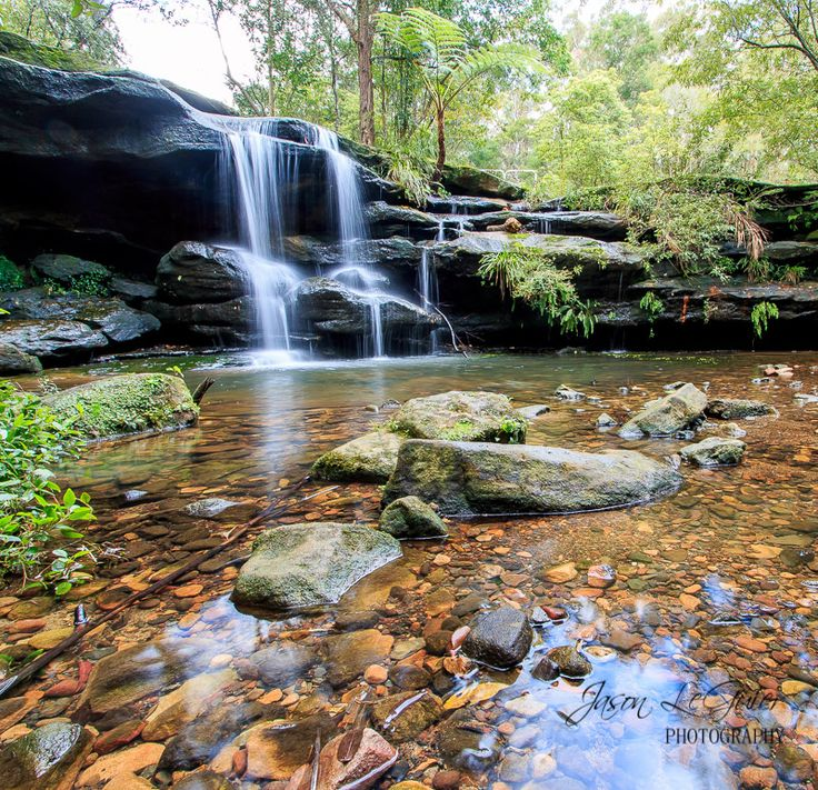 Hunts Creek Waterfall photo