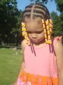 Hair Styles For Mixed Kid, #Hair #HairBraidswithbeads #kid #mixed #Styles