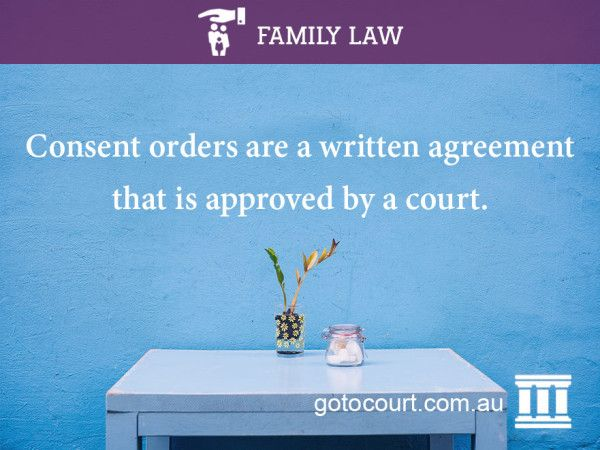 Consent orders – property. Reaching an agreement with your former partner as to your property may have advantages such as allowing you to make the decisions that best suit your circumstances and reducing the financial and emotional costs of legal proceedings. A... #consentordersproperty #property