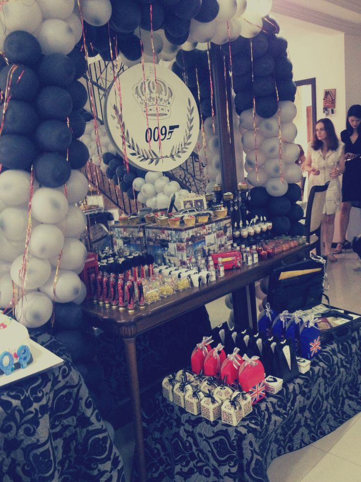 007 themed party - 27/07/2013