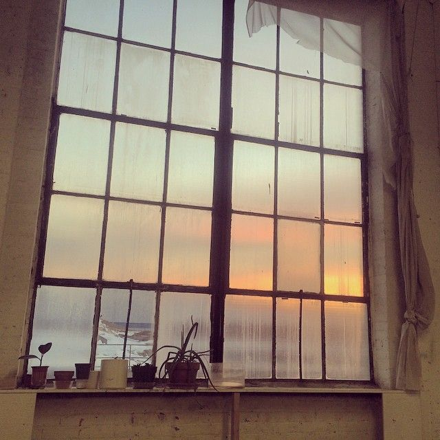 Williamsburg studio window X