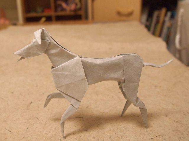 Grey Hound | グレーハウンド (おりがみ新世紀より) Designed by John Montroll(O… | Flickr