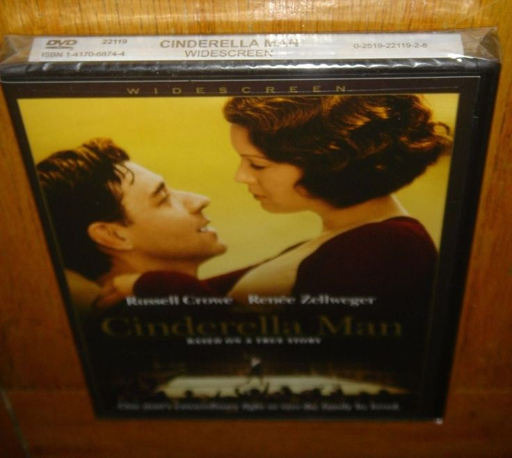 Russel Crowe Cinderella Man Renee Zellweger DVD New Sealed in Plastic Rocky