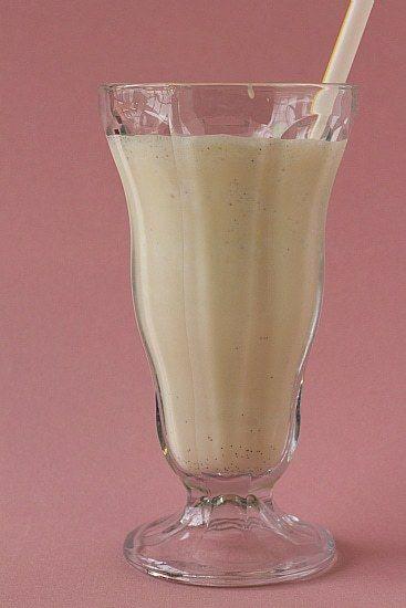 Malted Vanilla Milkshake