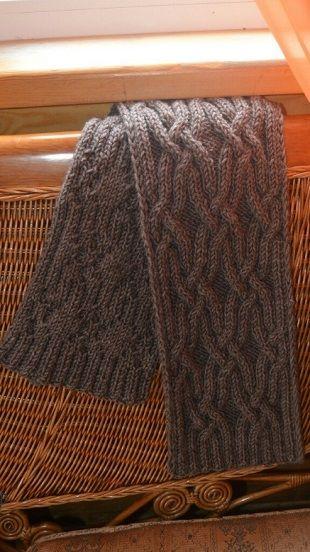 Схема узора для шарфа  С наступлением осени нам хочется ощущать себя тепло и комфортно в любую непогоду. Предлагаем вам узор, для вязания теплого и красивого шарфика. Используя этот узор вы можете также связать оригинальную шапочку и вместе с шарфом, связанным таким же узором они составят отличный комплект для осени и зимы. Таким узором можно вязать изделия как для мужчин, так и для женщин. Далее вы можете ознакомиться с красивой схемой вязания для комплекта, состоящего из шарфа и шапки…