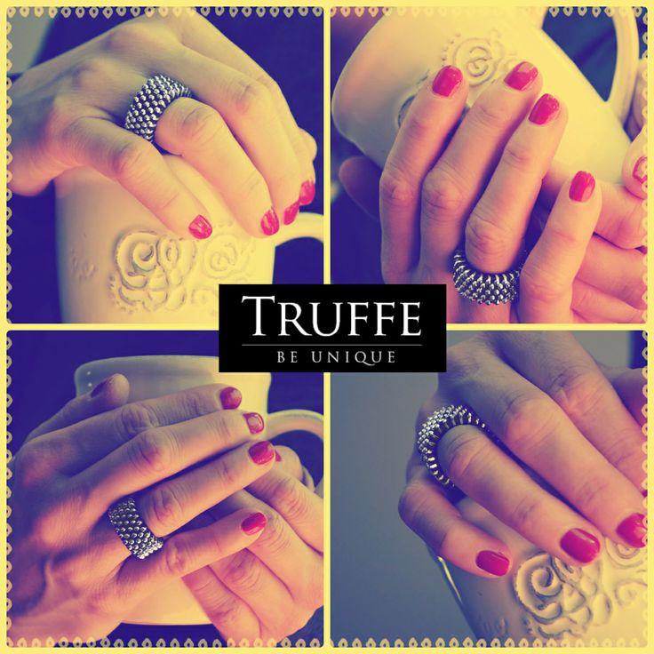 Zippers Jewellery - Zipper Ring. Biżuteria z zamka błyskawicznego - pierścionek.