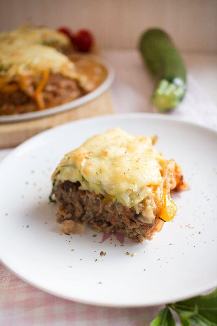 Low Carb Spaghetti-Hackfleischpizza – Low Carb Köstlichkeiten