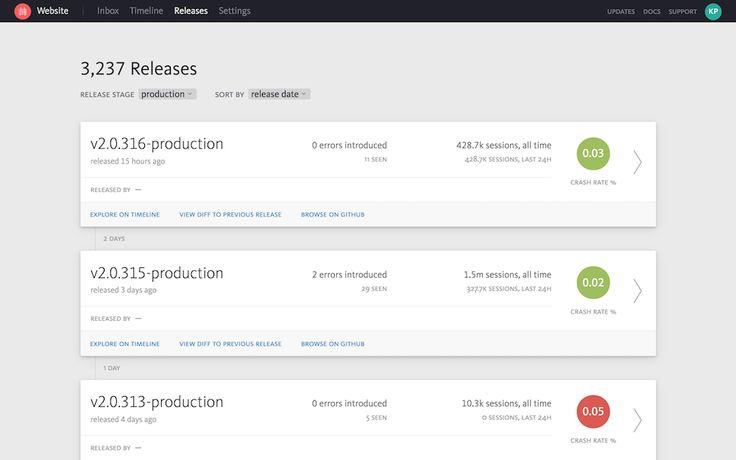 Nieuw dashboard in Bugsnag helpt bugs in releases vroegtijdig op te merken - https://appworks.nl/2018/01/11/nieuw-dashboard-in-bugsnag-helpt-bugs-in-releases-vroegtijdig-op-te-merken/