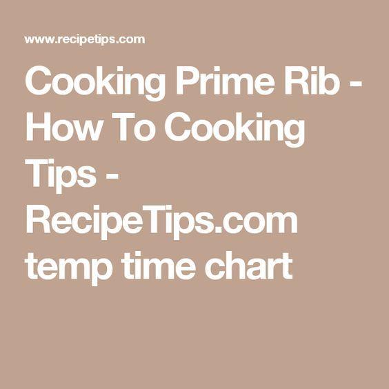 Best 25 Prime rib temperature chart ideas – Prime Rib Temperature Chart