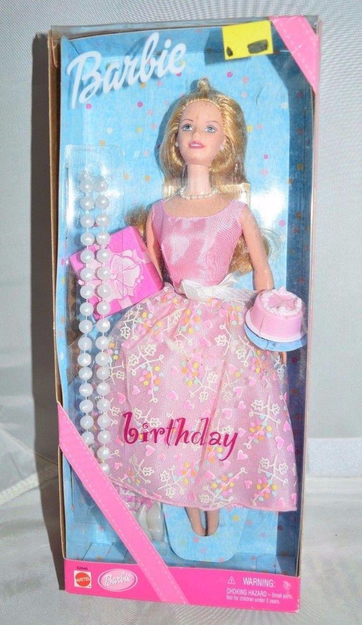 Find great deals on ebay for barbie hair extensions doll barbie light - Nib 2001 Barbie Birthday Mattel Doll 52640 In Dolls Bears Dolls Barbie