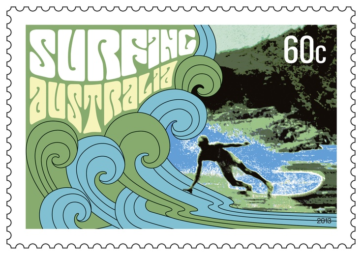 Our Surfing Australia #stamps celebrate #surfing as an Aussie way of life :-)