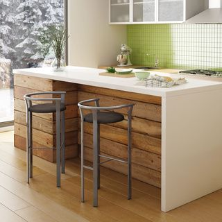 Wood and white bar    http://www.overstock.com/Home-Garden/Lolo-Grey-Finish-30-inch-Bar-Stool/8754029/product.html?CID=214117 $141.99