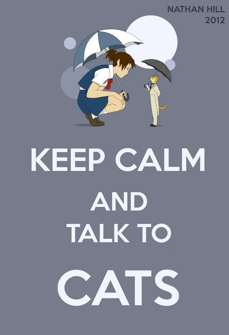 The Cat Returns Keep Calm