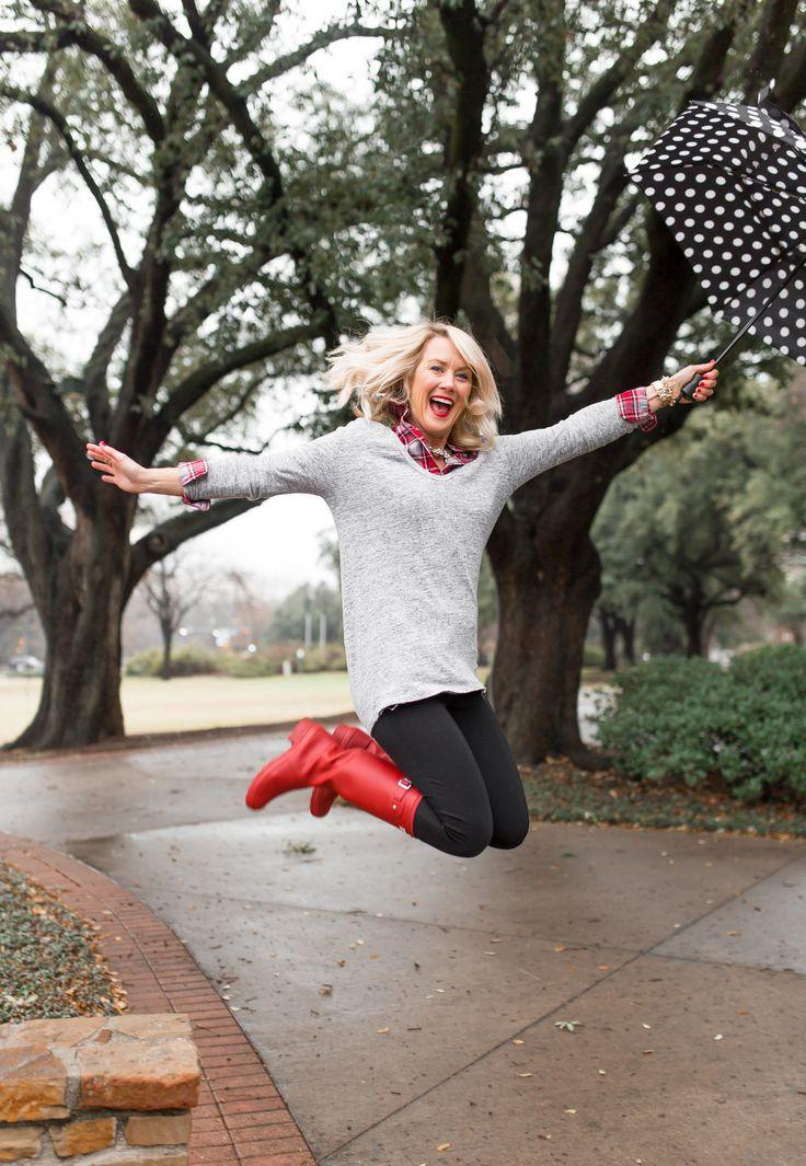 Spring Showers | Rainboots 2 Ways