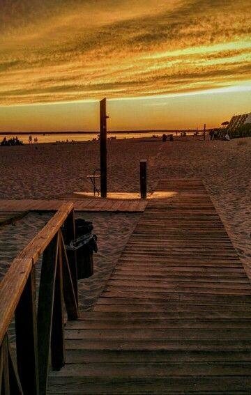 ,playa de el portil. (Huelva)