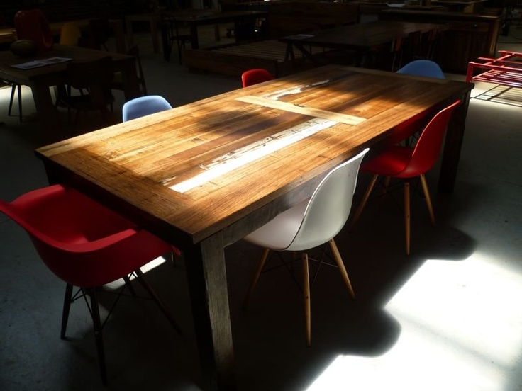 Neel Dey Furniture. Love this dining table.
