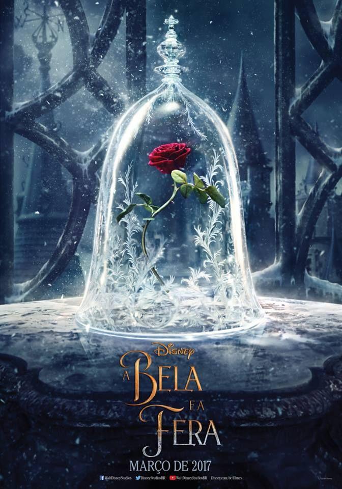 Saiu o primeiro cartaz de A Bela e a Fera e o destaque, claro, é a Rosa e sua…