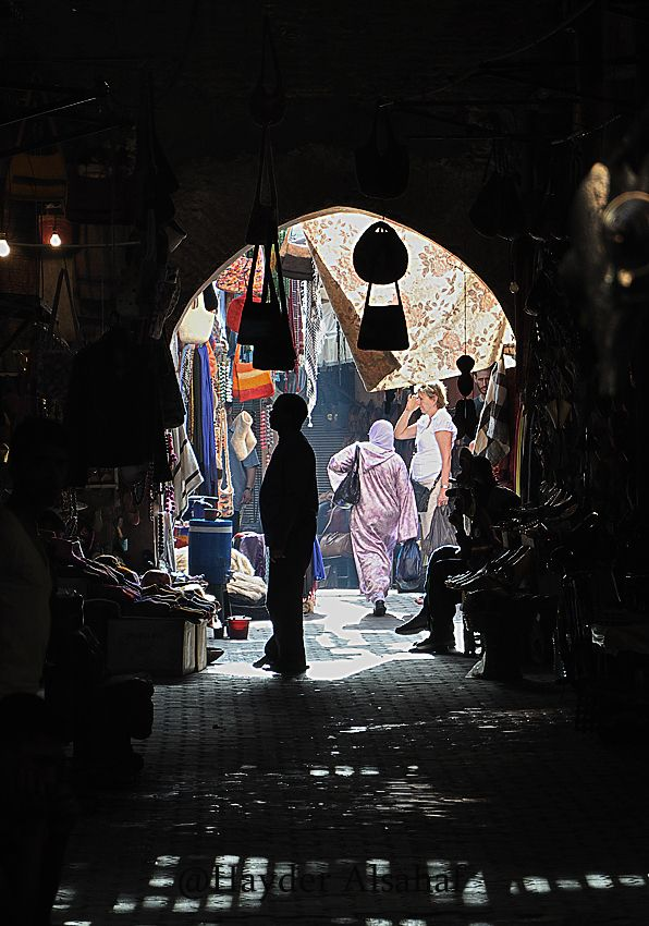Marrakesh - just been there! :)