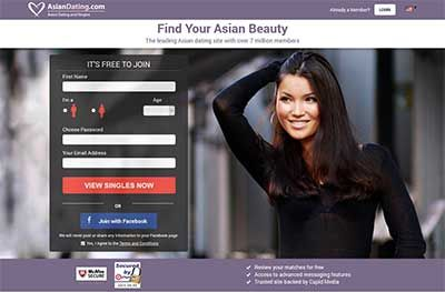onley asian dating website While most don't offer as many features as the most widely-known top dating sites, all seven sites focus entirely on people in asia or those who want to date someone asian unless otherwise mentioned, each site expressly supports interracial relationships, and, when noted, also supports lgbtq relationships, polyamory, and/or focuses entirely.