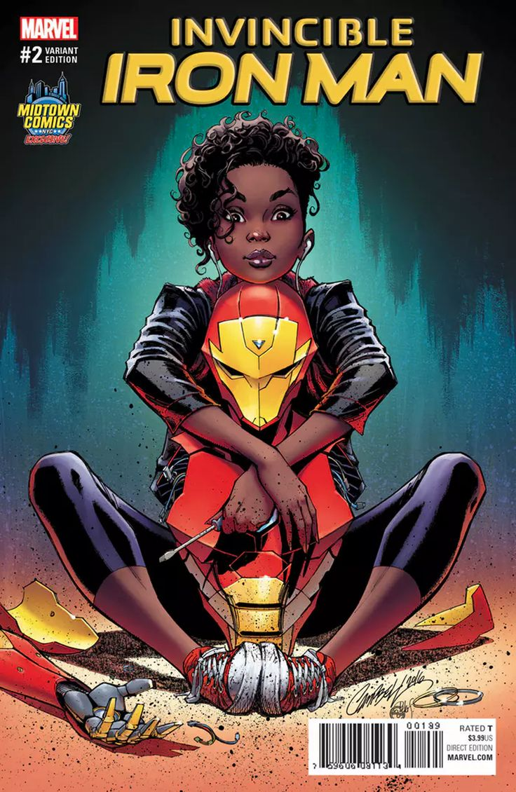 Last month, Marvel Comics came under fire for a variant cover for the debut issue of Riri Williams in Invicible Iron Man by J. Scott Campbell, one decried for heavily sexualizing the 15-year-old hero. The company rapidly pulled the cover from solicits with no replacement—but Campbell drew a new cover that will now take its place.