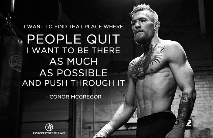 Conor McGregor, Quotes, UFC, MMA, Inspiration, Motivation, Fitness, Effort, Perseverance,