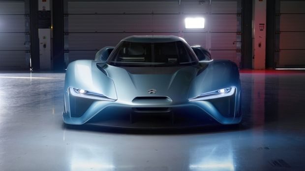 The NextEV NIO EP9 might be missing an emotionally evocative model name such as those that adorn the latest flagship Ferraris and Lamborghinis, but when this car hits top speed, it will be going so fast that its badges will just be a blur.