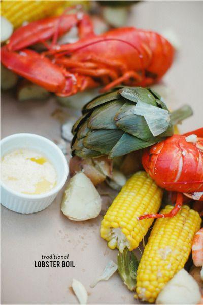 Lobster boil: http://www.stylemepretty.com/living/2015/05/18/backyard-lobster-boil/ | Photography: Milou & Olin - http://www.milouandolin.com/