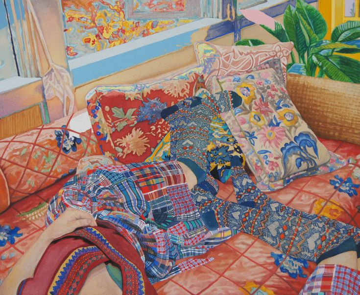A Mesmerizing Riot Of Pattern And Colour By Japanese Artist Naomi Okubo UPPERCASE