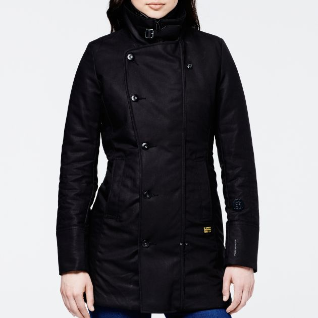 G-Star RAW Cocoon Loose Coat Womens Jackets