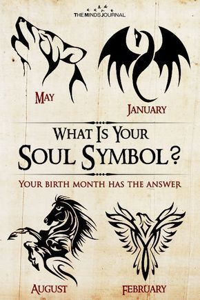 What Is Your Soul Symbol Your Birth Month Has The Answer For Fun