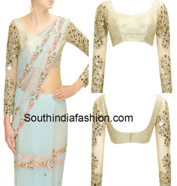 full_sleeves_mirror_work_blouse