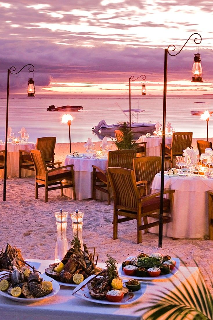 Drink in a Mauritian sunset at Jacaranda, a chic seafood restaurant directly on the beach. Sofitel Mauritius L'Imperial Resort & Spa (Black River, Mauritius) - Jetsetter