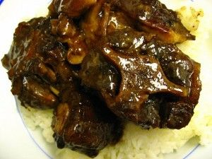 Braised Oxtail Stew (don't forget to add 2 Tbsp mushroom soy sauce)