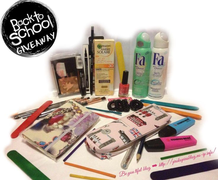 "be.you.tiful_blog🍁🍂🙋 ""Back To School #Giveaway "" 🙋🍂🍁"