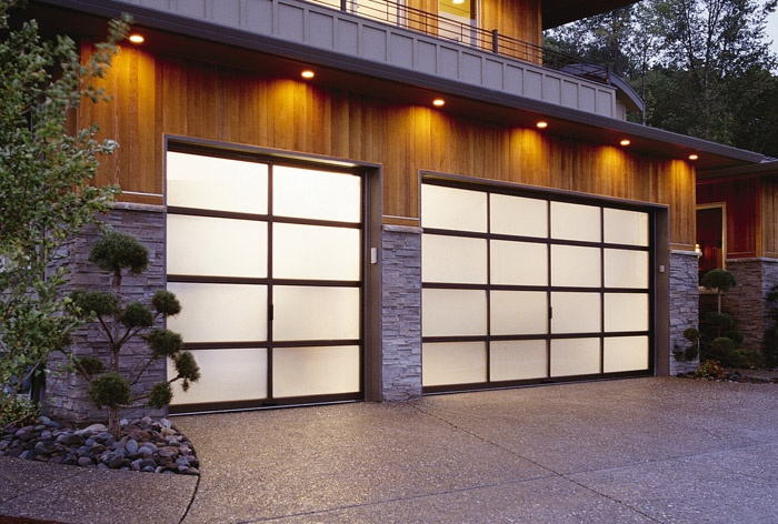 19 Best Garage Door Images On Pinterest Modern Contemporary Homes