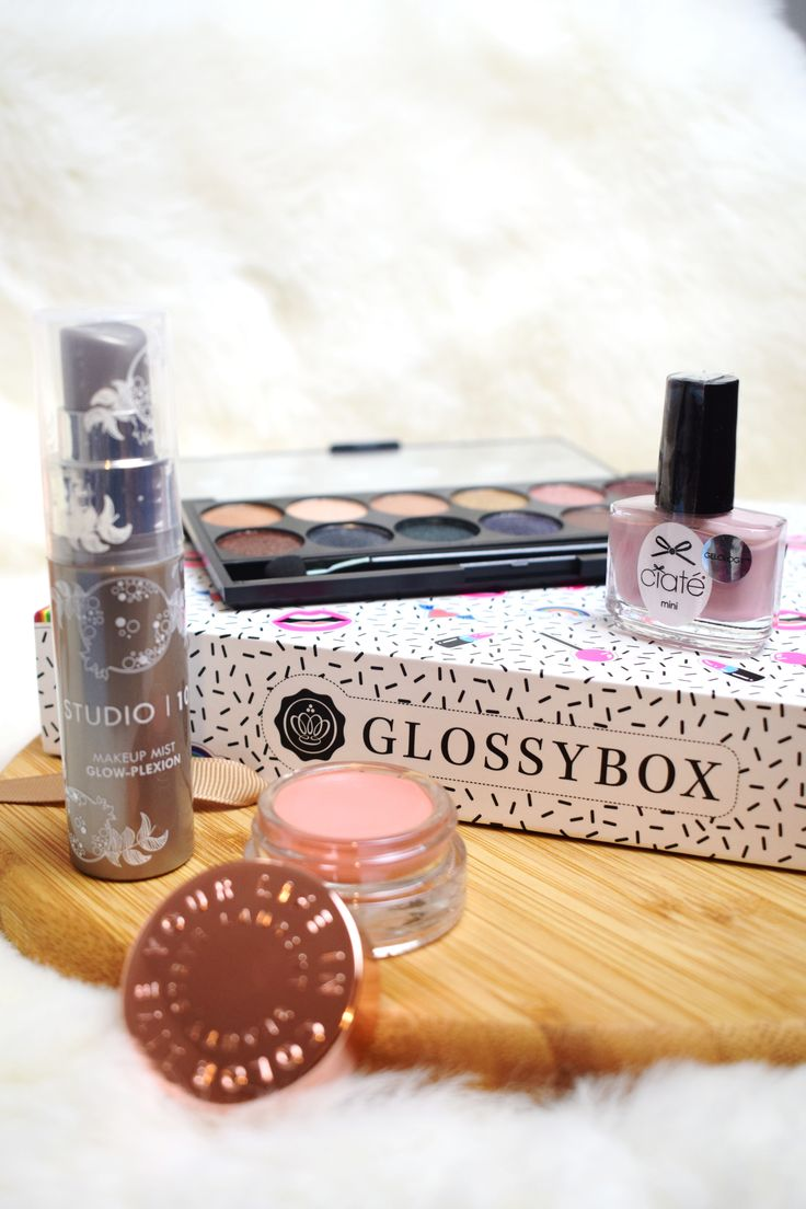 Glossybox UK February 2018 (Unboxing linked) #makeup #glossybox #february #subscriptionbox