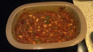 I actually created this recipe using a Pampered Chef recipe as a guide - WHITE BEAN TURKEY CHILI done in the Deep Covered Baker - it was delicious, the recipe is posted on my blog.