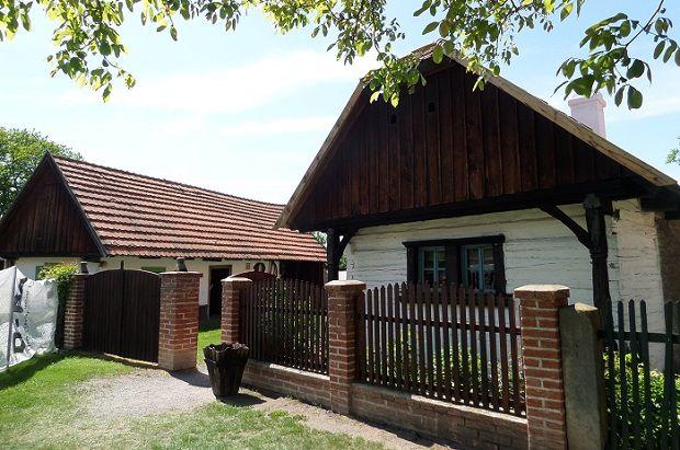 Skanzen - outdoor museum in Přerov nad Labem.