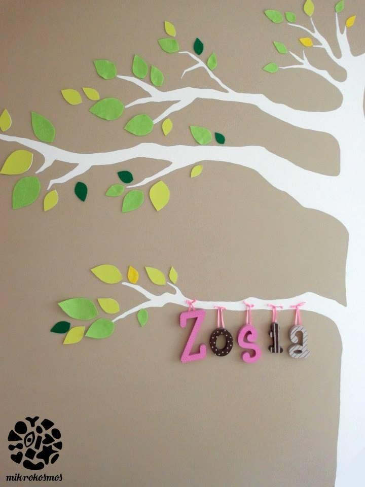 mural in sophie's room