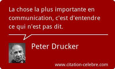 Peter Drucker :