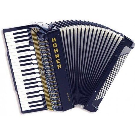 ACORDEON DE PIANO CROMATICO HOHNER Atlantic IV 120 Negro